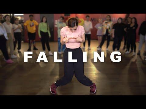 Trevor Daniel - Falling (Maata Remix) Dance | Matt Steffanina & Erica Klein