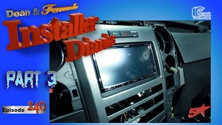 Kenwood radio goes into the Ford Raptor thank you iDatalink Installer Diaries 240 part 3