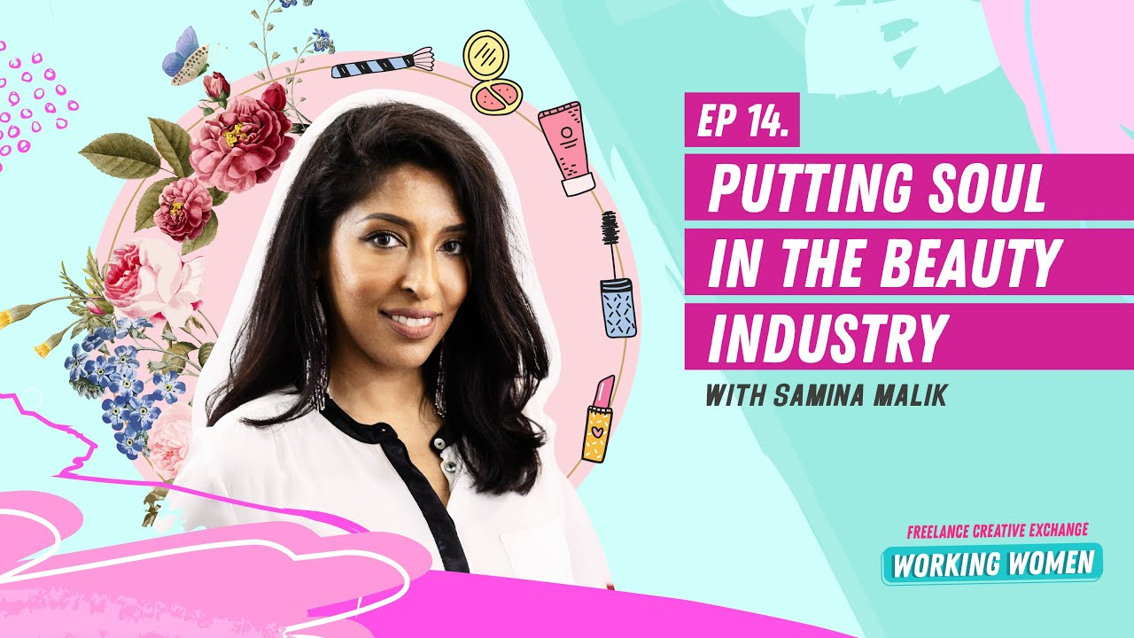 PUTTING SOUL IN THE BEAUTY INDUSTRY. PODCAST GUEST WITH CREATIVES AT WORK.