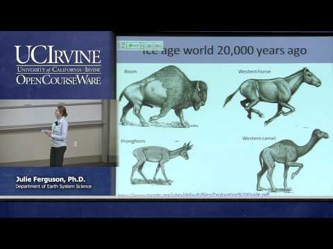 Earth System Science 21. On Thin Ice. Lecture 21. Ice Age World and Past Impact of Ice on Humans