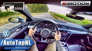 VW Arteon 2.0 TSI R Line 280HP POV Test Drive by AutoTopNL