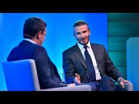 Talks at GS – David Beckham on the Secret to His Success
