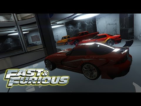 ALL Fast And Furious Cars In Gta 5 | Garage Tour | EPISODE 2