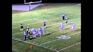 Ed Clark #4 RB\DB and Justin March #9 RB\TE\LB 2009 Junior Season Highlights