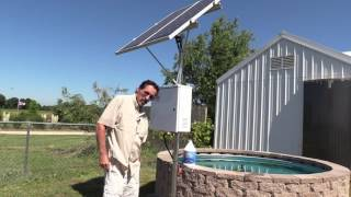 Missouri Wind and Solar shows how to build DIY solar fish pond