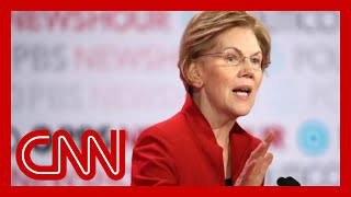 Elizabeth Warren claps back at moderator's age question
