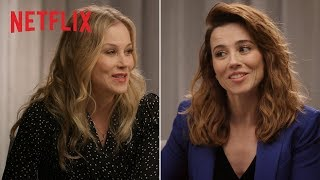 Dead to Me | Christina Applegate and Linda Cardellini Talk New Show | Netflix