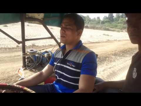 MF 7250 driving @ gadchiroli district ( 2 )