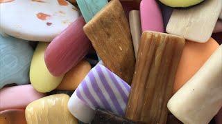 ASMR SOAP # 78 /Used soap/Обмылочки