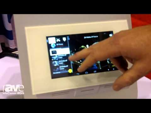 InfoComm 2015: 2N Exhibits Indoor Touch Android Based Control Station