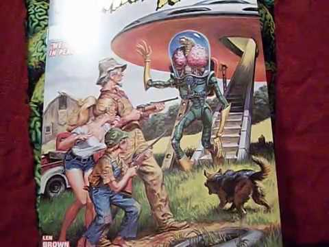 """Mars Attacks """"We Come In Peace!"""" Topps Comics #1 (miniseries)"""