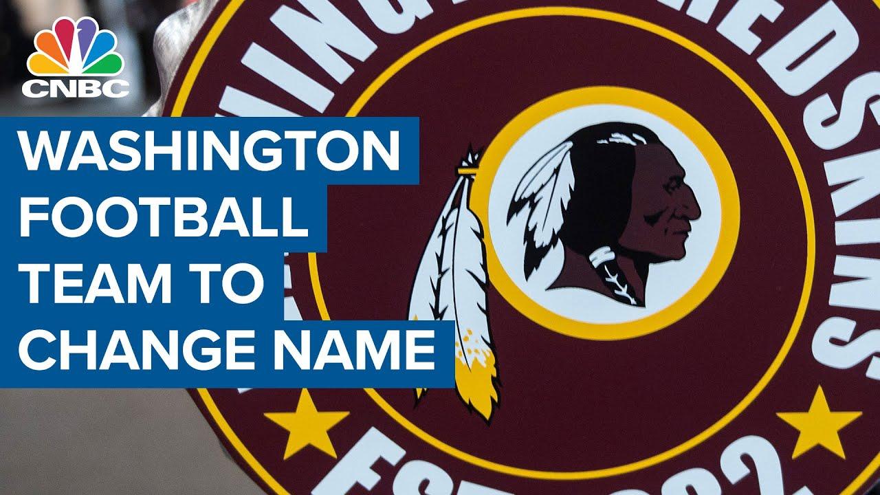 Washington NFL team 'Redskins' announces name change for 20 season