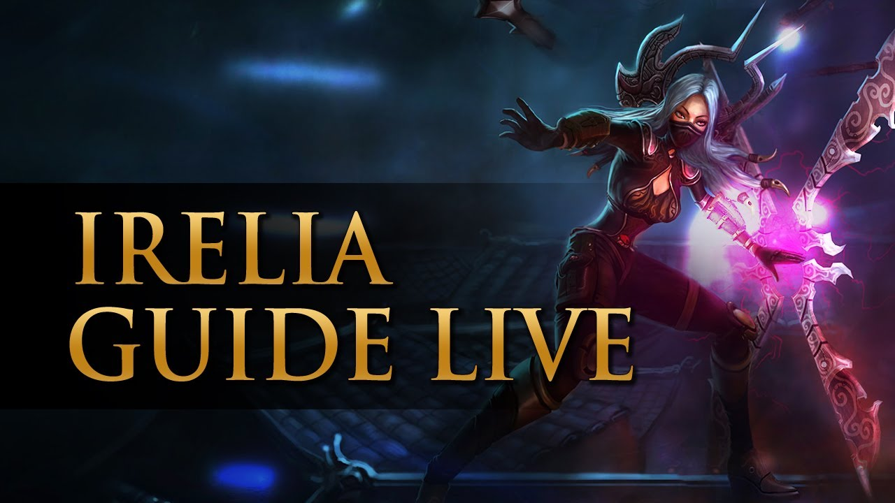 [Guide Live S3] Irelia Ranked top vs Lee Sin 1700 elo ...  [Guide Live S3]...