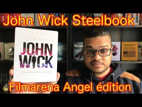 John Wick steelbook Filmarena Angel édition