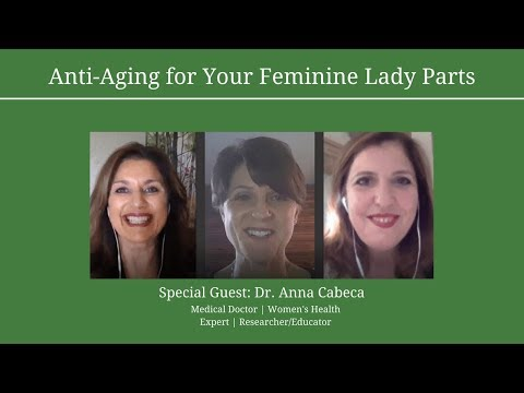 Anti Aging for Your Feminine Lady Parts with Special Guest Dr. Anna Cabeca
