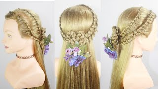 Easy Baby Girl Hairstyle   Hairstyle For medium hair   cute girls hairstyle   hair style girl
