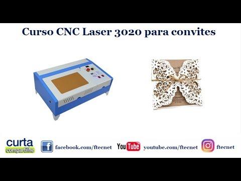 curso cnc laser 3020 para corte em papel youtube