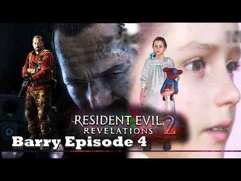 Resident Evil Revelations 2 - Barry EP4 - A Brilliant Barry Emerges With A Knife