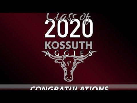 Kossuth High School - Class of 2020 Graduation