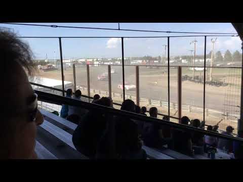 Chris & Colin Heim IMCA Stock Car Sherman County Speedway 5 5 19