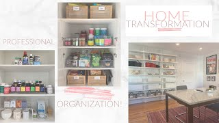 EPIC HOME TRANSFORMATION! BEFORE AND AFTER ORGANIZING!