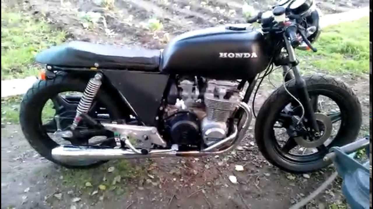 honda cb 650 z 1980 cafe racer - youtube