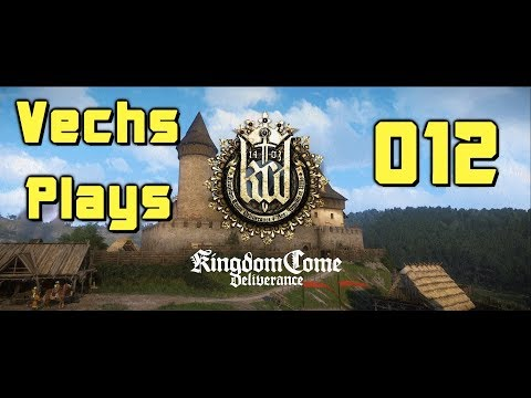 Kingdom Come Deliverance 012 Detective Work and Also Talking About Wounds Without Modern Medicine