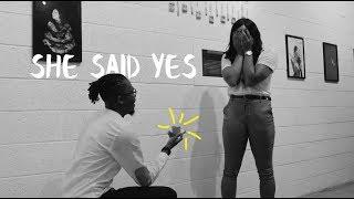 I secretly had my girlfriend plan her own proposal