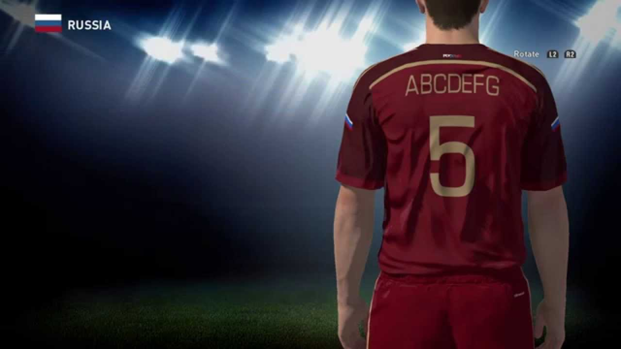 PES World PES 2016 Russia kit instructions - YouTube aa50196a73731