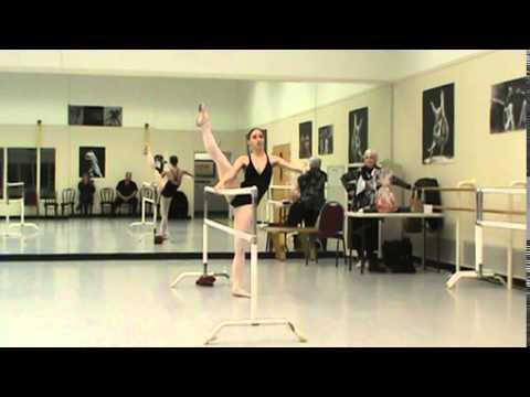 Miranda at Dance School in Saratoga Springs, NY