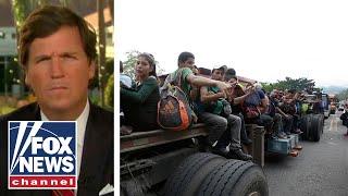 Tucker and Tijuana delegate blast migrant caravan
