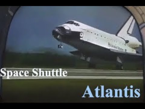 Atlantis Space Shuttle 2019