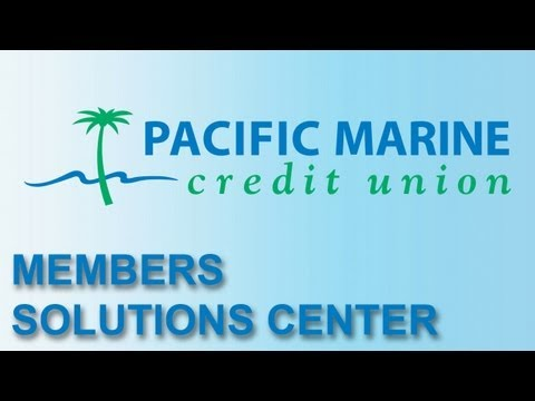 Working in the Member Solutions Center at Pacific Marine Credit Union
