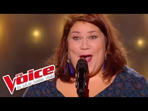 Audrey - « Just Can't Get Enough » (Depeche Mode) - The Voice 2017 - Blind Audition