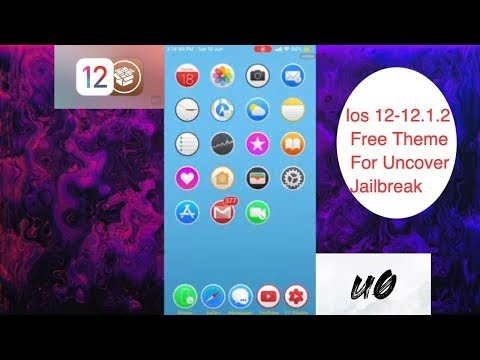 Ios 12-12 1 2 Free Theme For Uncover Jailbreak