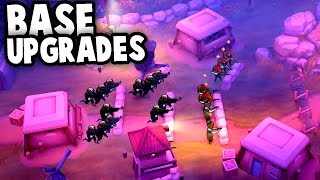 BASE Upgrades and NEW RECORDS!  (Guns Up! PC Multiplayer Gameplay)