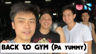 NAG GYM SI CLYDE (basketball + reunion with friends)