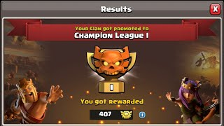 Presenting Champion War League Performance of Warriors | Gujarat Warrior | Clash of Clans