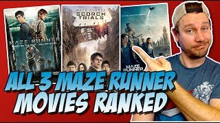 All Three Maze Runner Movies Ranked From Worst to Best (w/ The Death Cure Movie Review)