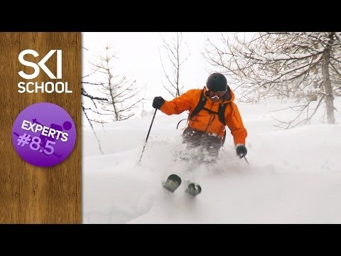 Expert Ski Lessons #8.5 - How to Ski Trees