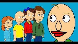 Caillou & The Family vs Baldi's Basics - Full Movie