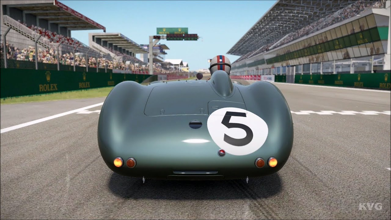 Project Cars 2 Aston Martin Dbr1 300 1959 Test Drive Gameplay Hd 1080p60fps Youtube