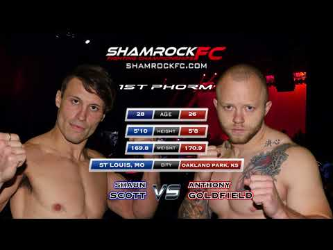 Shamrock 298 Shaun Scott vs Anthony Goldfield