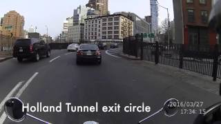 Rich Rides NYC: Holland Tunnel from Jersey City to Manhattan