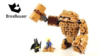 Lego Batman Movie 70904 Clayface Splat Attack - Lego Speed Build