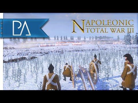 EPIC FROZEN RIVER CROSSING - Napoleonic: Total War 3 Mod Gameplay