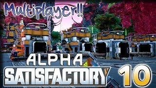 Polishing Production – Satisfactory Multiplayer Alpha Gameplay – [Stream VOD] Part 10