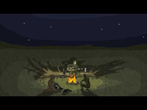 S.T.A.L.K.E.R. Campfire song pixel animation