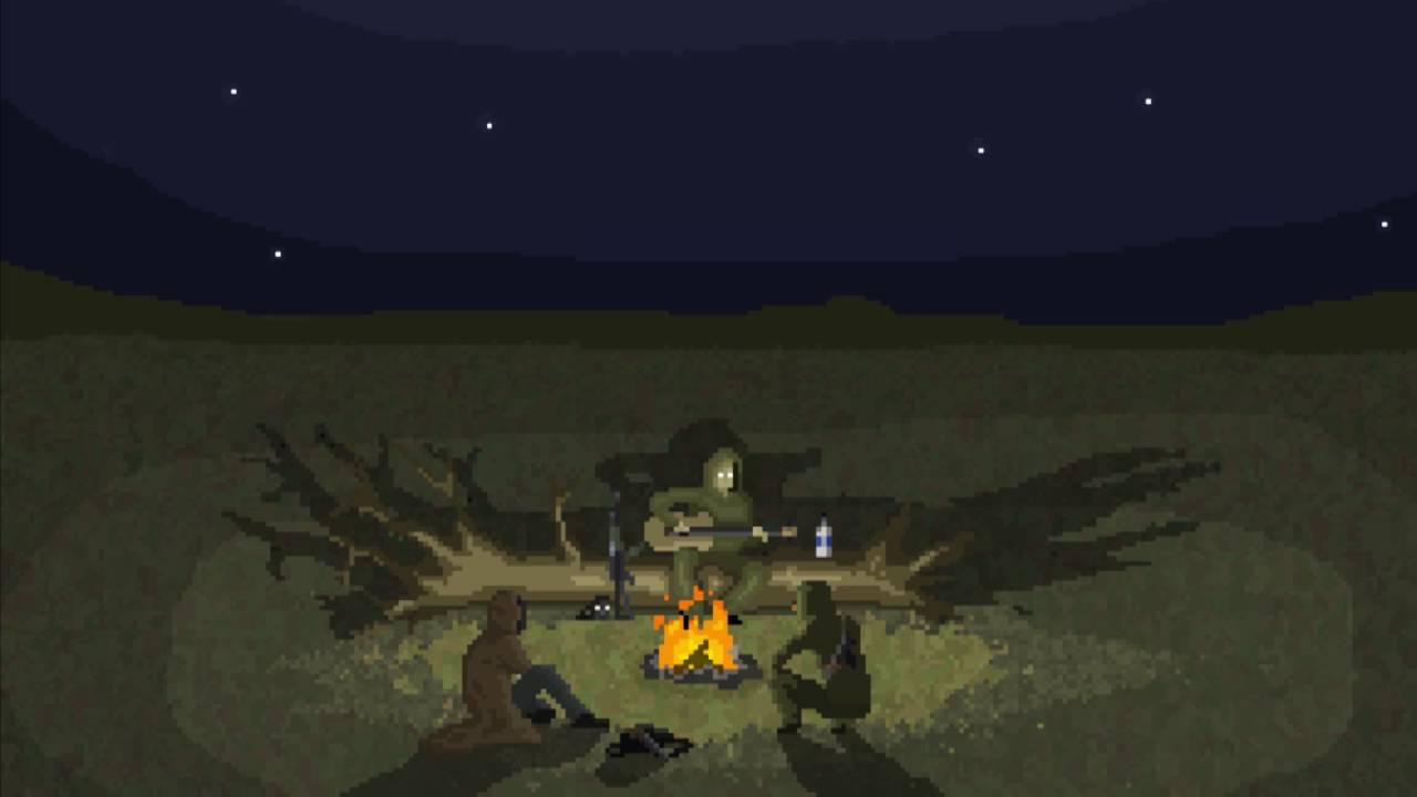 Animated Fire Wallpaper S T A L K E R Campfire Song Pixel Animation Youtube