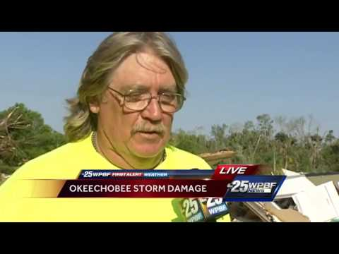 Dramatic video, interview with man who lost home in storm